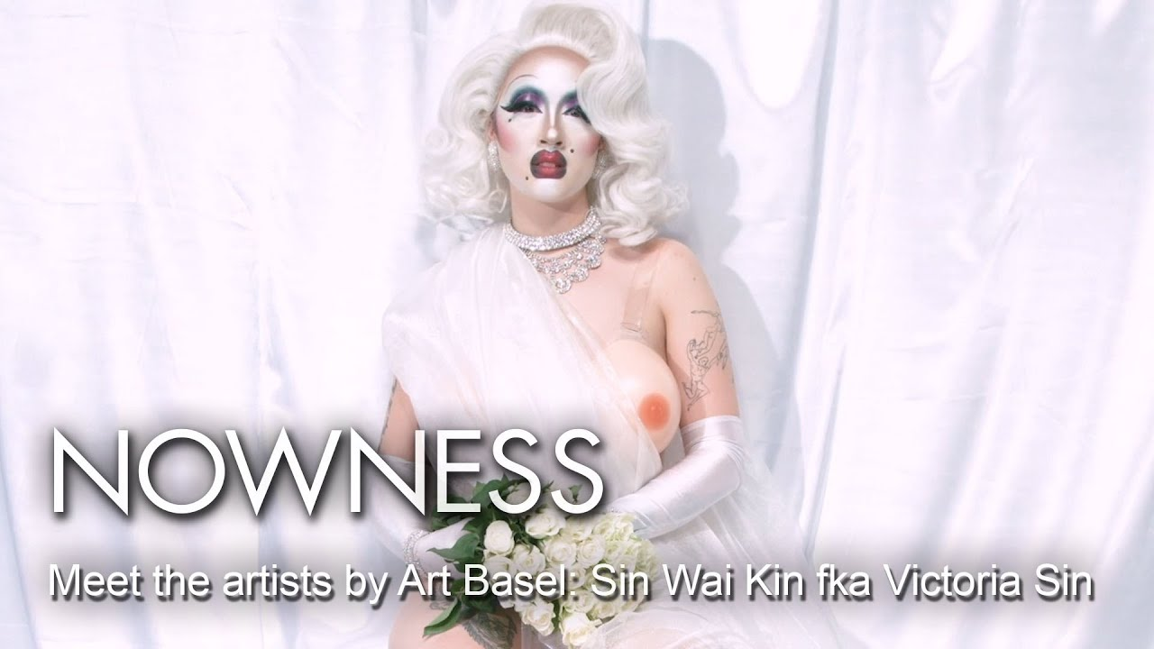The gender anarchy of drag performance artist Sin Wai Kin fka Victoria Sin  - YouTube