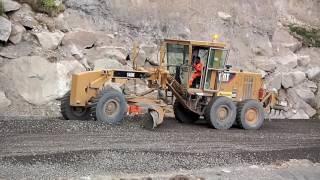 Perú - Construcción -Carretera - Carhuaz - Chacas - San Luis - Ancash