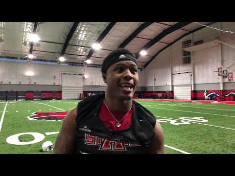 RWRC Radio Post Practice Interview W/AState DE Ronheen Bingham