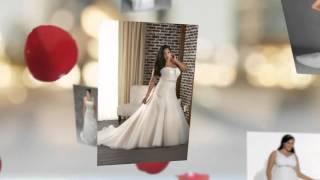 Полные невесты в свадебных платьях