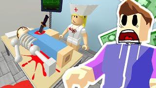 Roblox - Hospital Tycoon - AN EVIL HOSPITAL!?
