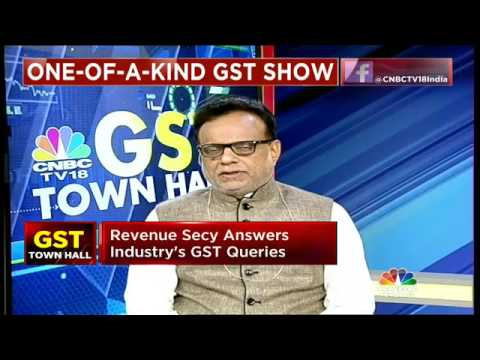GST Townhall With Revenue Secy Hasmukh Adhia- Part 2