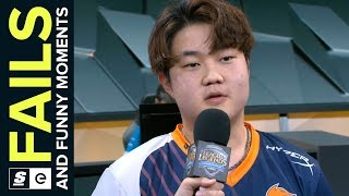 Best League of Legends FAILS from Week 5 of the 2018 Spring Split