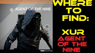 destiny where s xur 1 9 1 12 still no ghorn