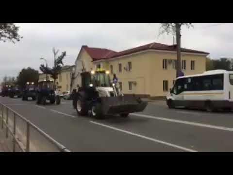 Парад коммунальной техники