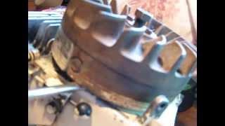 demontage volant magnetique moteur BERNARD