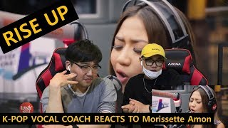 Download lagu [ENGsub] K-pop Vocal Coach reacts to Rise Up - Morissette Amon (cover)