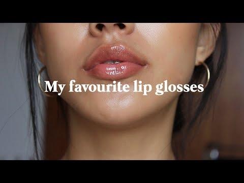 My favourite lip glosses | Haley Kim