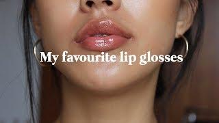 My favourite lip glosses   Haley Kim