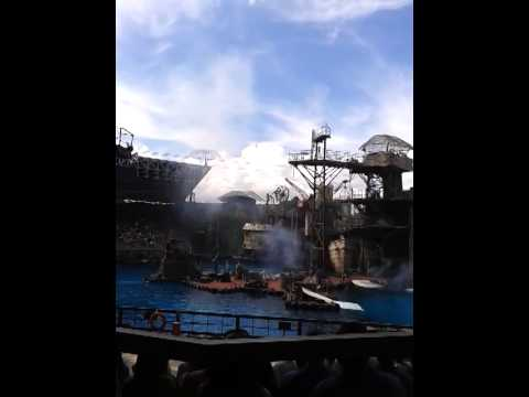 UNIVERSAL STUDIO PIRATES SHOW Aug.23,2014