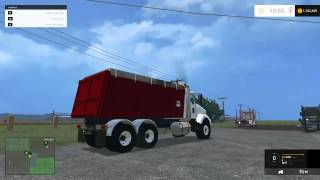 Farming Simulator 2015 Mods - Kenworth Dump Truck, Toyota Forklift, Ford F-150 90s model