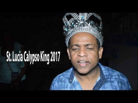 St. Lucia Calypso King 2017