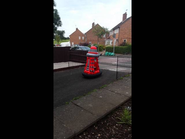 Call Dr Who there is a Dalek in bartley green