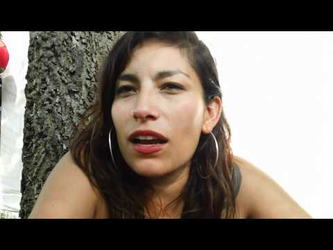 Ana Tijoux Interview @ Lollapalooza Chicago 2011