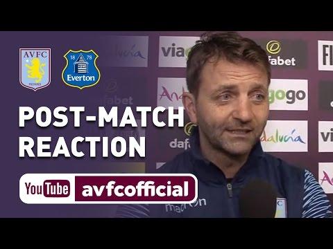 Villa 3-2 Everton reaction