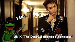"Jun K ""The Daegu grandpa/gangster"" of 2PM"