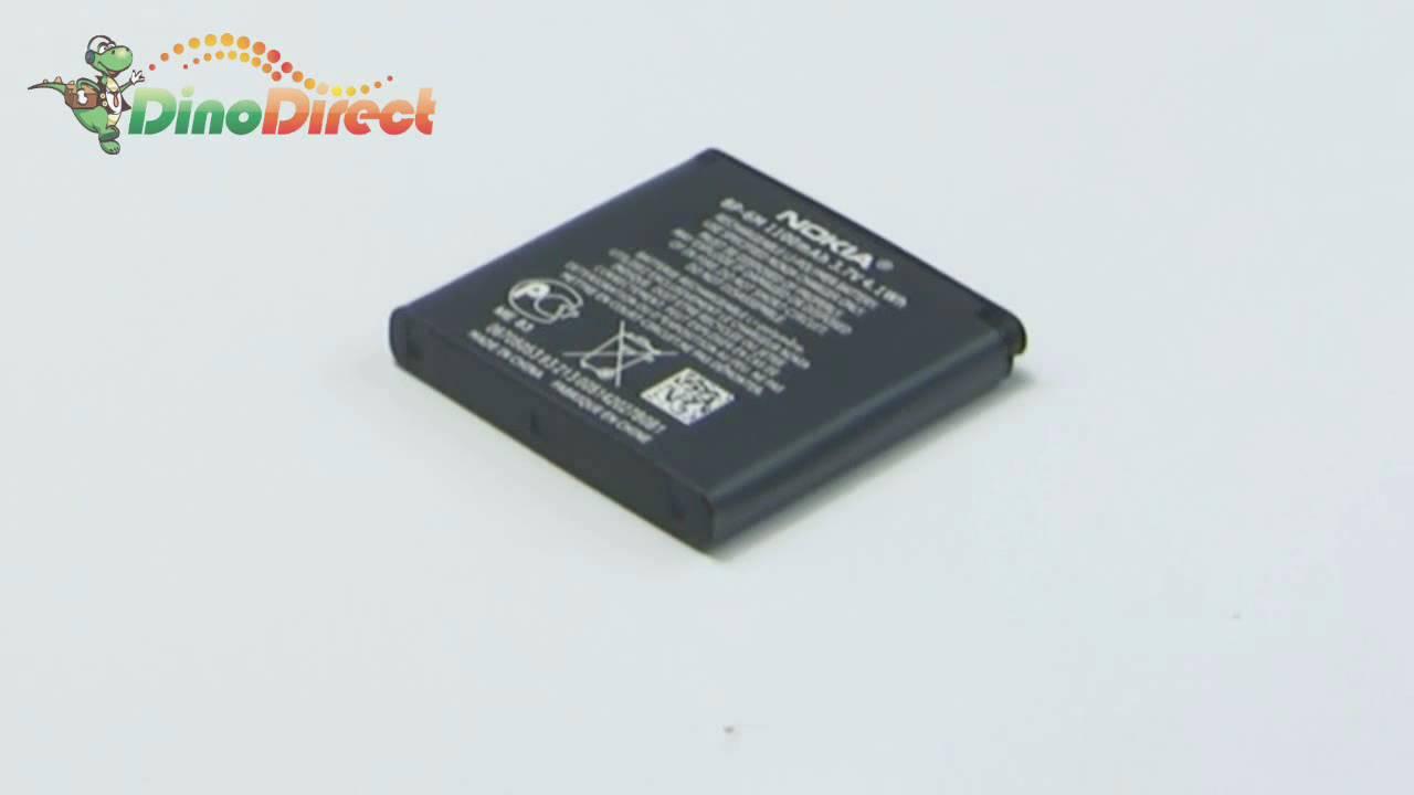 Replacement 1100mAh BP6M Battery for NOKIA 6233 7390 9300 N73 N93