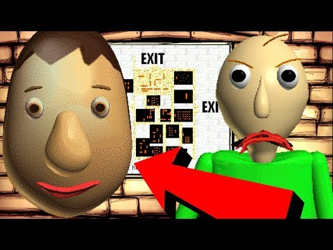 SECRET CHARACTER FOUND?! Baldi's Basics in Education and Learning + MAP
