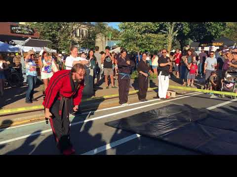 Villari's Martial Arts Somerville Adult Demo Team at What the Fluff? Festival 09/23/2017