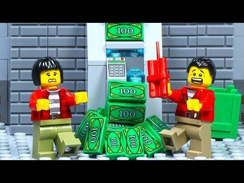 Lego ATM Robbery Prison Break