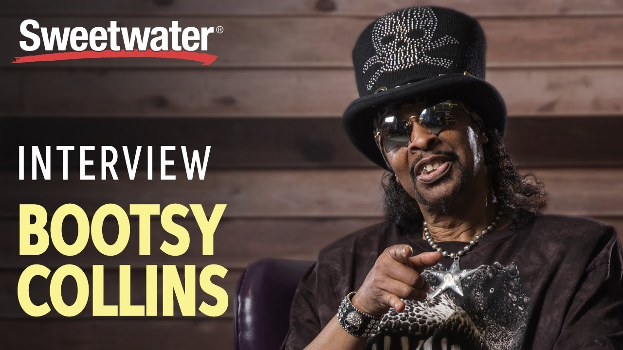 Bootsy Collins Interviewed by Sweetwater