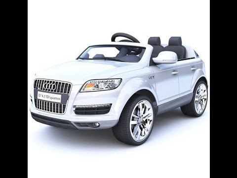 Toy Audi Q7 Electric Toy Car Youtube