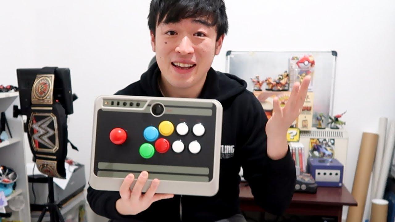 8bitdo N30 Arcade Stick Mod Sanwa Upgrade