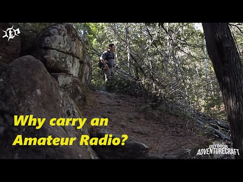 Why carry an Amateur Radio?