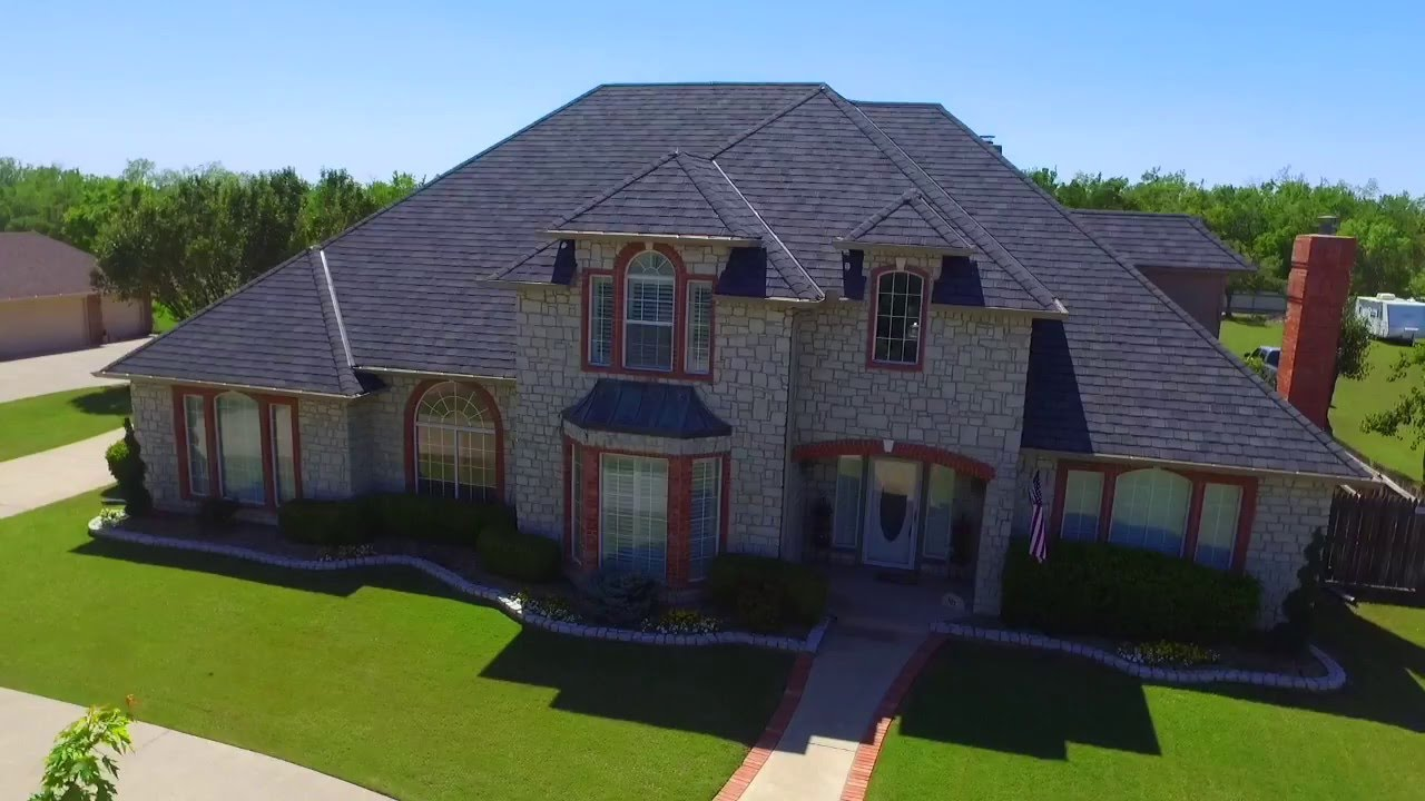 Mustang Oklahoma Dream Home Offers Guest House Pool Cabana