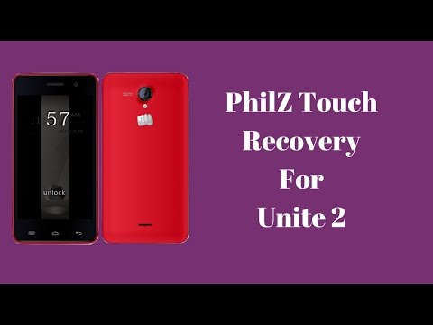 PhilZ Touch Recovery for Unite 2
