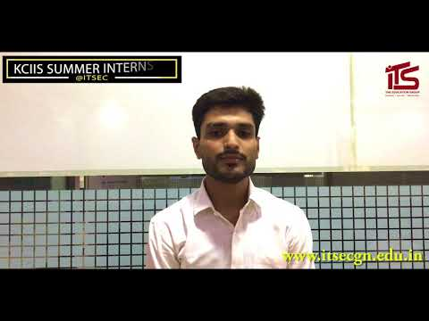 Student From Truba College Of Engineering, Indore @ITSEC