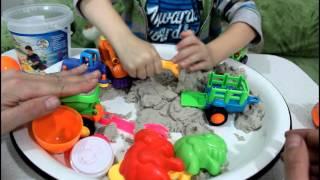 Кинетический песок Космический Kinetic sand Space
