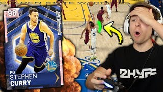 PINK DIAMOND STEPH CURRY PULLING UP FROM HALFCOURT! BEST JUMPSHOT IN THE GAME! NBA 2K19 My Team