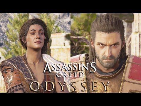 ASSASSIN'S CREED ODYSSEY Deimos Boss Fight (Good & Bad Endings)