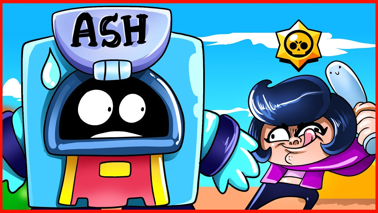 Download BRAWL STARS ANIMATION - ASH IS IN TROUBLE