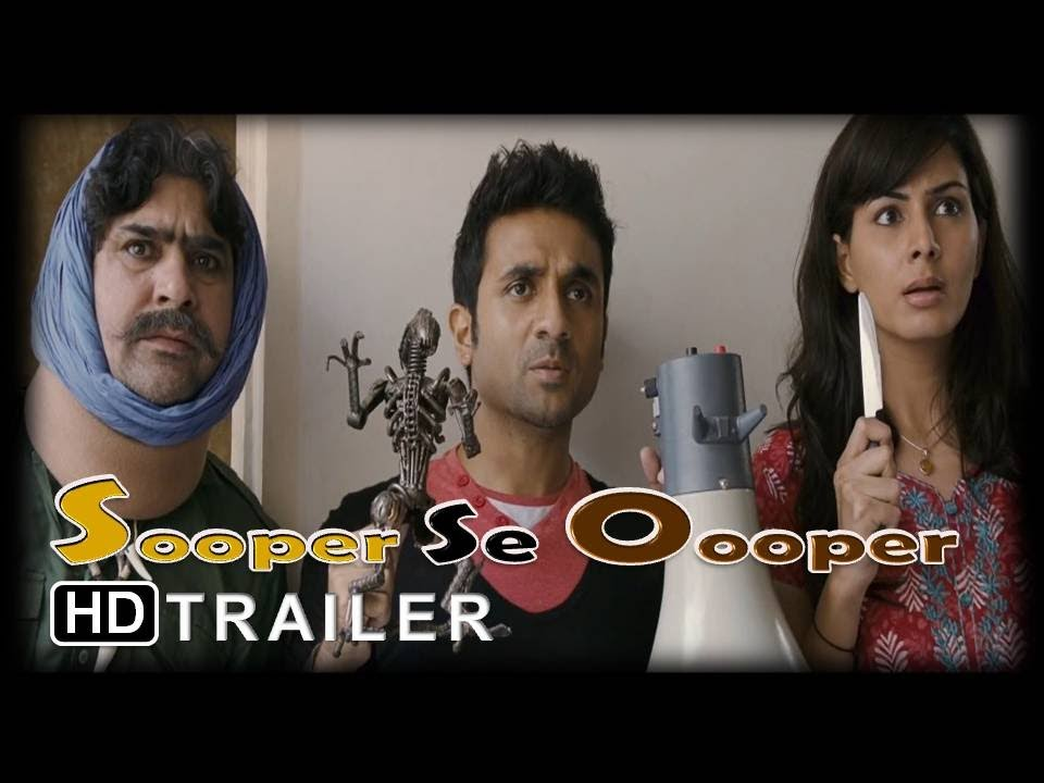 Download Sooper Se Ooper | Movie Trailer | Vir Das,Gulshan Grover,Kirti Kulhari