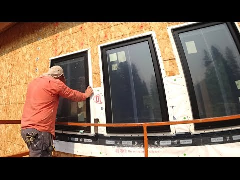 LOOKS INCREDIBLY AWESOME! (Full West Wall Window Install)