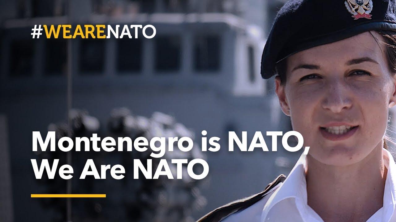 Montenegro 🇲🇪is NATO, We Are NATO - #WeAreNATO