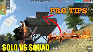 FREE FIRE | RANK PRO TIPS AND 18 KILL FREE FIRE