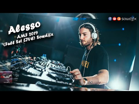 Alesso - AMF 2019 - Amsterdam Music Festival (Full Set LIVE) on Sowdjfx