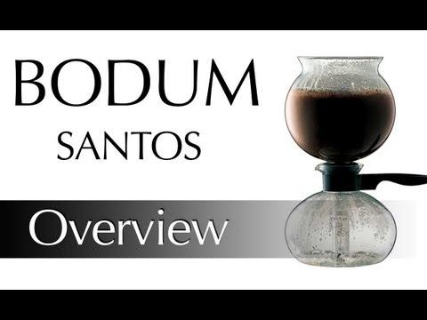 Bodum Santos Vacuum Coffee Pot Demonstration