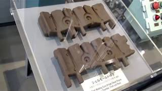 トヨタ産業技術記念館自動車館、初期のシェルモールド中子造型機の動画♪BGM thumbnail