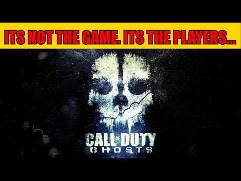 WHY DID PLAYERS HAVE TO RUIN COD GHOSTS? RIP BEST COD EVER...