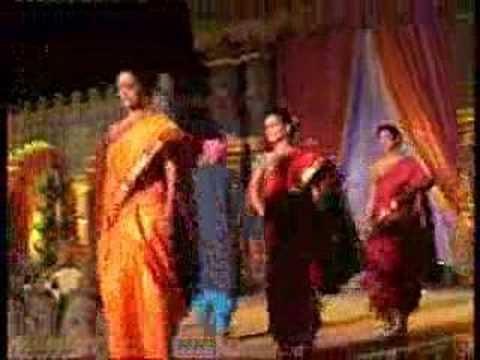 Marathi Paithani Fashion Show at Pune (Heritage ...
