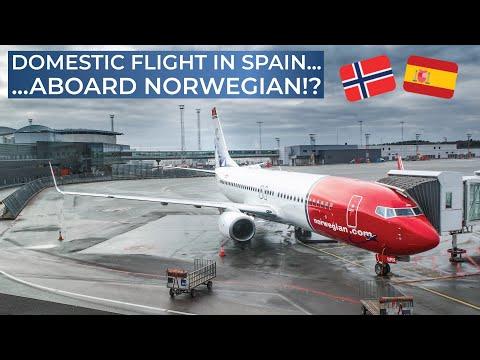 TRIPREPORT   Norwegian Air Shuttle   Palma de Mallorca - Madrid   Boeing 737-800 SkyIntertior