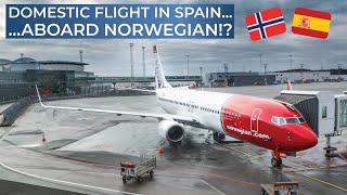TRIPREPORT | Norwegian Air Shuttle | Palma de Mallorca - Madrid | Boeing 737-800 SkyIntertior