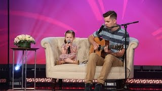 4-Year-old Claire and Her Dad Perform 'You'll Be in My Heart'