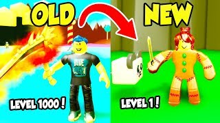 So I Started a NEW ACCOUNT In SLAYING SIMULATOR and became a NOOB... (Roblox) thumbnail