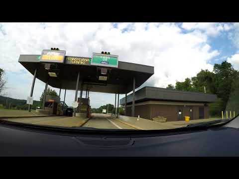 Route 76 & 66 North (Time Lapse Journey from New Stanton to Brookville, PA)