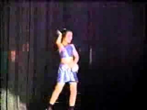 sheryl rubio bailando la bomba en el miss princesa venezuela 1999